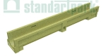 Лоток водоотводный полимербетонный CompoMax Basic DN100 H130