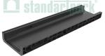 Лоток водоотводный пластиковый PolyMax Basic DN200 H80