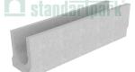 Лоток водоотводный бетонный BetoMax Basic DN200 без усиливающих насадок и решеток