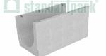 Лоток водоотводный бетонный BetoMax Basic DN500 без усиливающих насадок и решеток