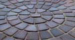 Тротуарная плитка Классика круговая
